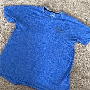 Blue and White Puma T-shirt